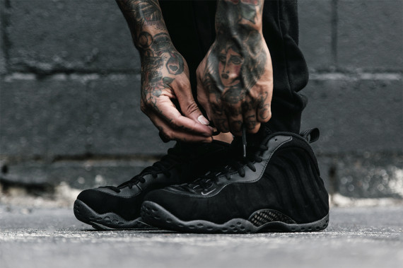 Wholesale Cheap Nike Air Foamposite One Triple Black