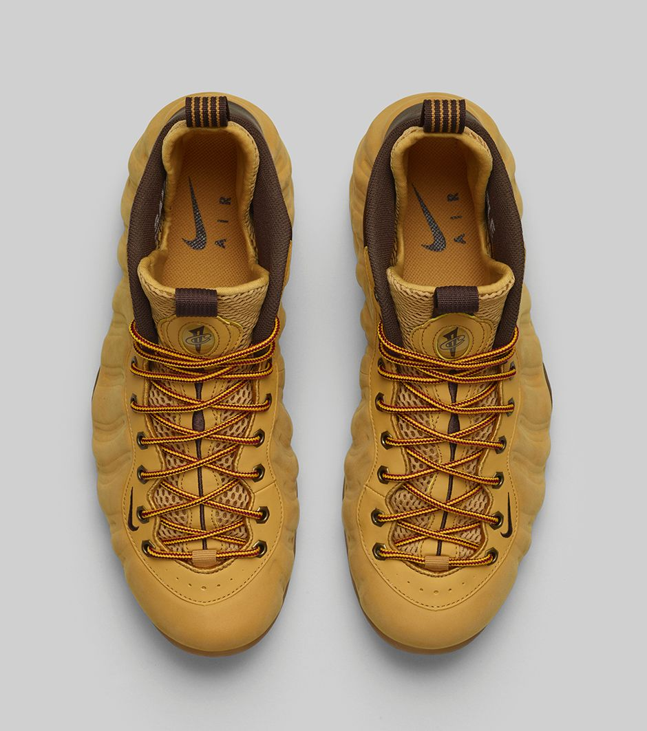 Nike Air Foamposite One Wheat From China