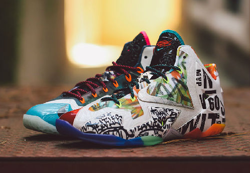 "LeBron XI ""What The"""