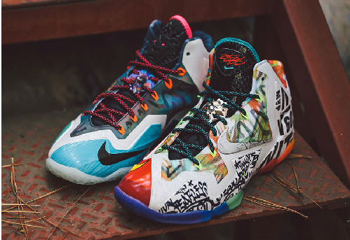Cheap LeBron XI What The From China