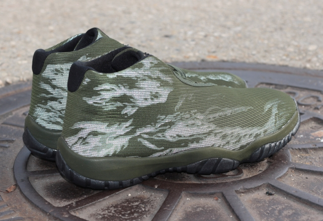 Air Jordan Future Tiger Army Green Outlet