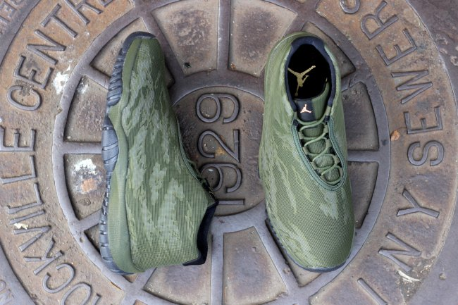 Wholesale Cheap Air Jordan Future Tiger Army Green Outlet
