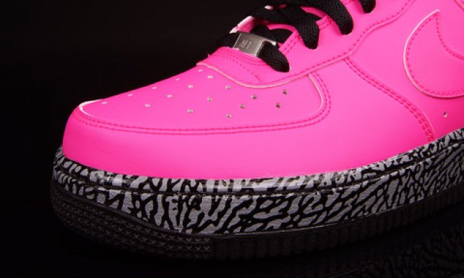 Wholesale Cheap Nike Air Force 1 GS Pink From China