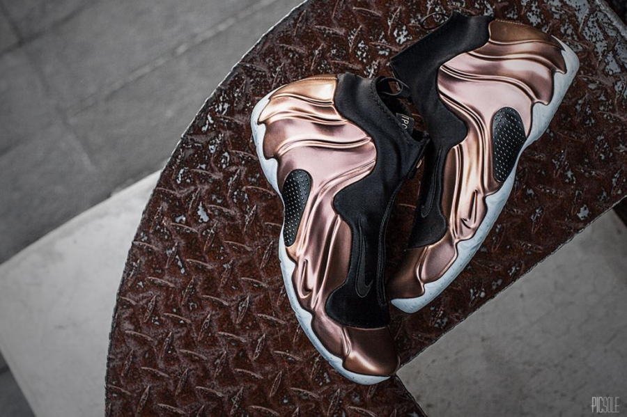 Wholesale Nike Air Flightposite Premium Copper Outlet