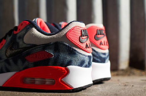 Wholesale Nike Air Max 90 Washed Denim Outlet