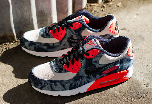 Wholesale Nike Air Max 90 Washed Denim Outlet From China