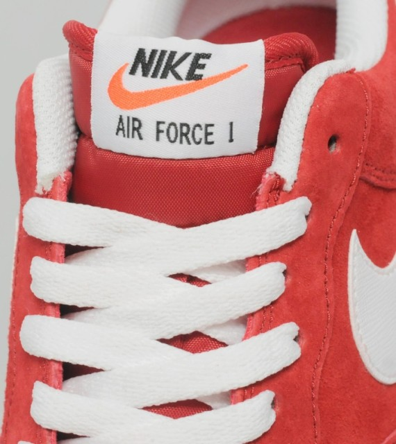 Wholesale Nike Air Force 1 Red Suede Version From China