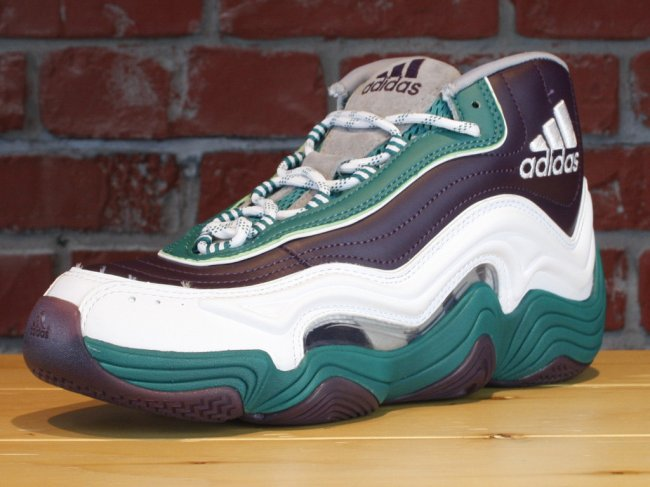 Adidas Crazy 2 White And Green