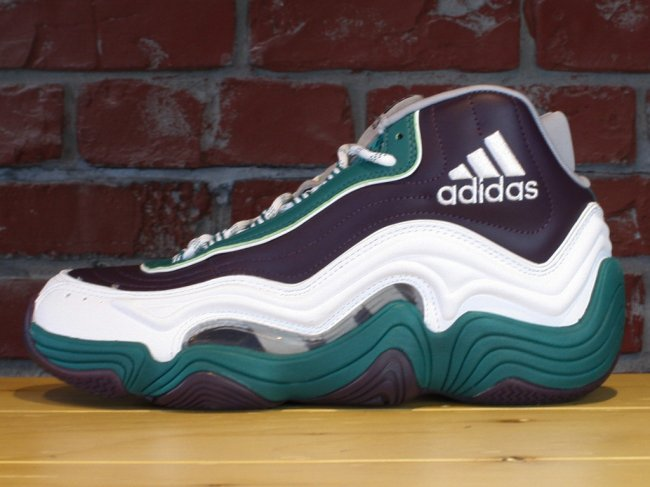 Adidas Crazy 2 White And Green From China