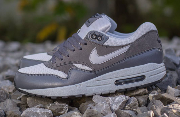 Wholesale Nike Air Max 1 Essential Wolf GreyDark Grey