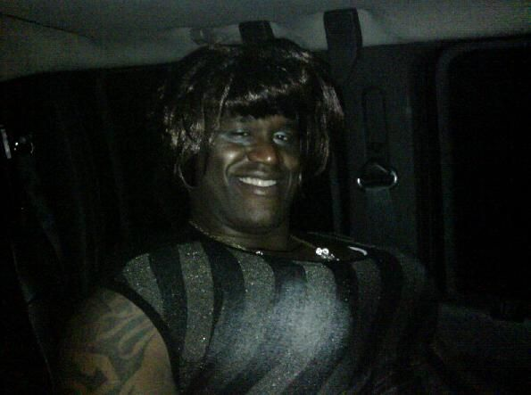 SHAQUILLE O'NEAL SCARED GUTS UP! ! !