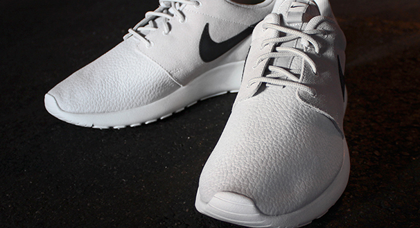 Nike Roshe Run Grey Suede Outlet