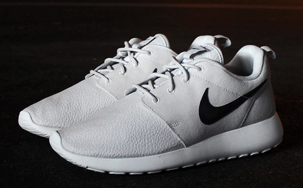 Cheap Nike Roshe Run Grey Suede Outlet