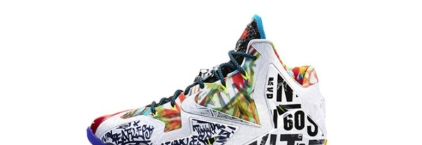 "LeBron XI ""What The?"""