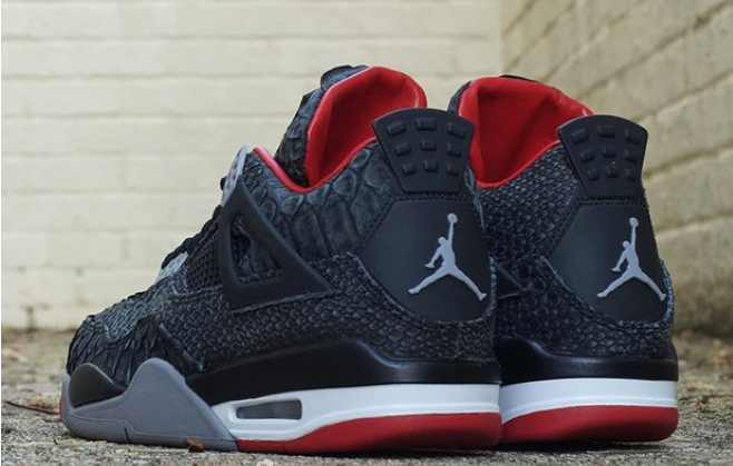 Cheap AIR JORDAN 4 SUEDE PYTHON Outlet