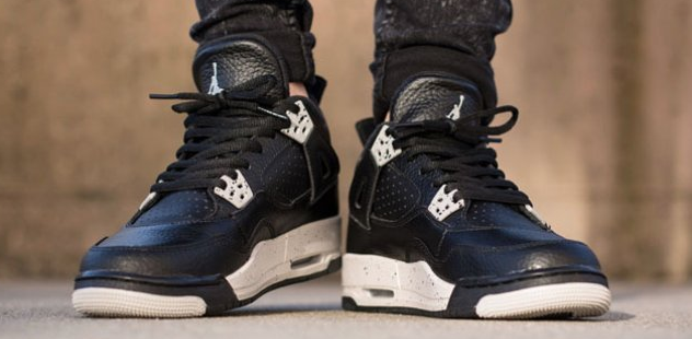 Cheap Air Jordan 4 Oreo GS