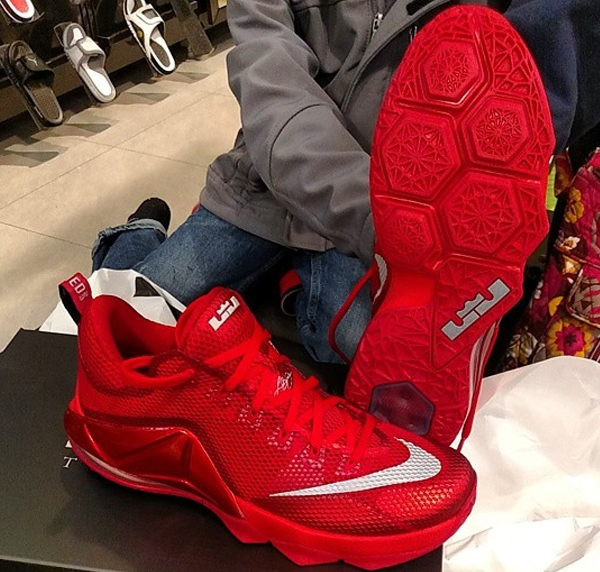 Cheap Nike LeBron 12 Low Red