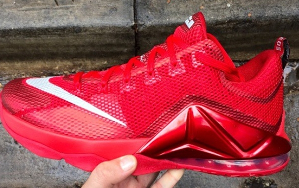 Wholesale Cheap Nike LeBron 12 Low Red