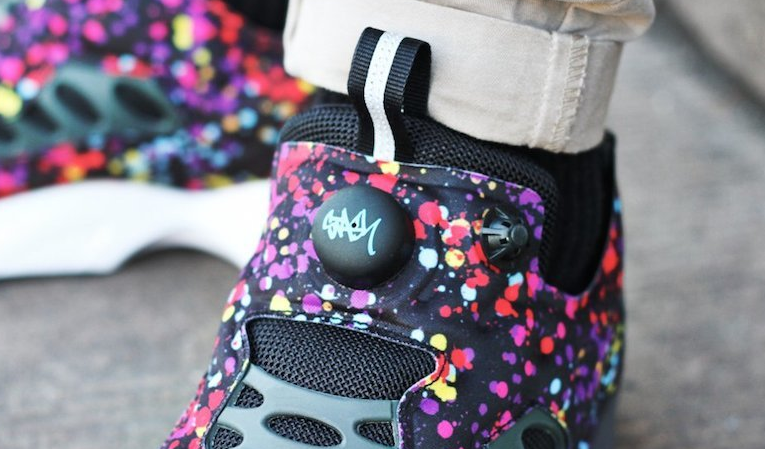 Stash x Reebok Insta Pump Fury Road Splatter