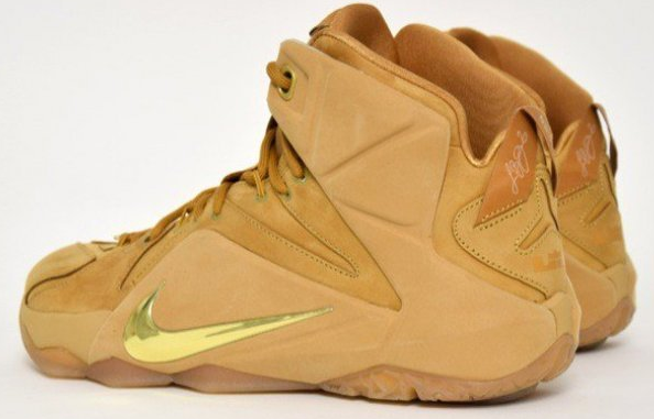 Cheap LeBron 12 EXT Wheat