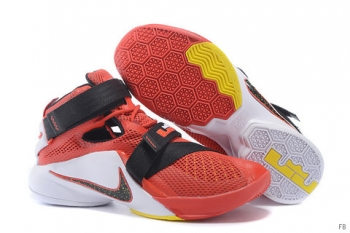 Nike Zoom Soldier 9 Red Black White