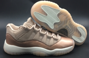 Perfect Air Jordan 11 Low GS Rose Gold