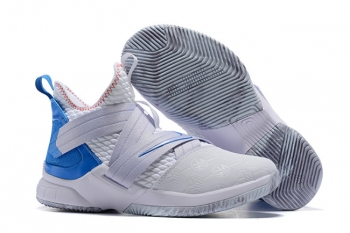 Nike LeBron Soldier XII iD White Blue