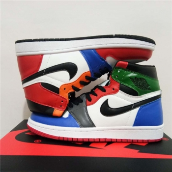 Air Jordan 1 Colorful
