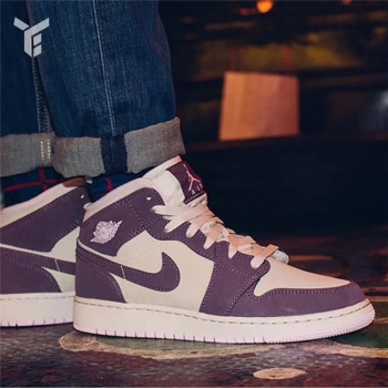 Air Jordan 1 Women Pink Purple