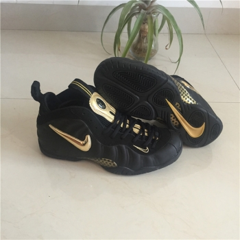 Nike Air Foamposite Pro Black Golden