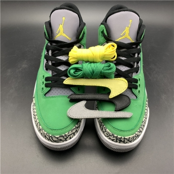 Air Jordan 3 Oregon Duck