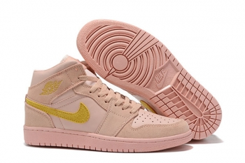 Air Jordan 1 Retro High OG Golden Pink