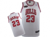 Wholesale Cheap Kids NBA Chicago Bulls Jordan #23 Jerseys White 01