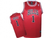 Wholesale Cheap Kids NBA Chicago Bulls Rose #1 Jerseys Red