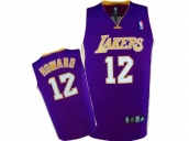 Wholesale Cheap Kids NBA Los Angeles Lakers Howard #12 Jerseys Purple