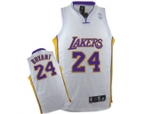 Wholesale Cheap Kids NBA Los Angeles Lakers Kobe Bryant #24 Jerseys White
