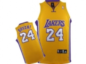 Wholesale Cheap Kids NBA Los Angeles Lakers Kobe Bryant #24 Jerseys Yellow