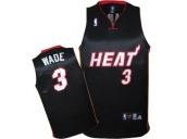 Wholesale Cheap Kids NBA Miami Heat Wade #3 Jerseys Black