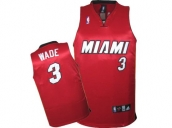 Wholesale Cheap Kids NBA Miami Heat Wade #3 Jerseys Red