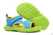 Wholesale Cheap Adidas Sandals Kids Skyblue Yellow Green