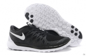 Wholesale Nike Free 5-0 Women 2014 World Cup Black White-F002