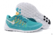 Wholesale Nike Free 5-0 Women 2014 World Cup Moonlight White Orange-F004