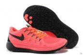 Wholesale Nike Free 5-0 Women 2014 World Cup Pink Black-F005