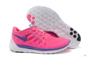 Wholesale Nike Free 5-0 Women 2014 World Cup Pink White Purple-F006