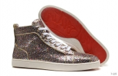 Women Christian Louboutin High Paillette Golden 210