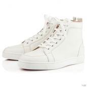 Women Christian Louboutin High White 170