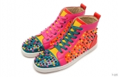 Women Christian Louboutin High Rivet Colorful 280