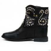 Isabel Marant Boots Rivets Black