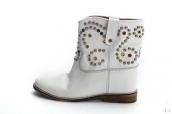 Isabel Marant Boots Rivets White