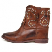 Isabel Marant Boots Rivets Brown